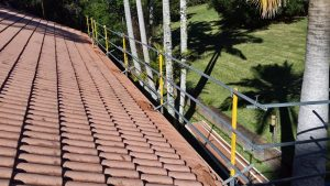 Roofing Guard Rail System
