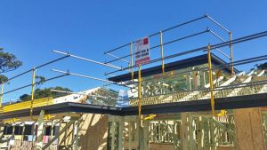 Roof Edge Rail for Residential Construction