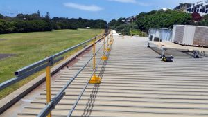 Commercial Construction Roof Safety Rail