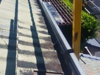 Tile Restoration Safety Rail